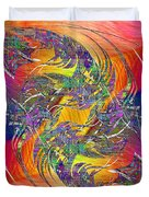 Abstract Cubed 314 Duvet Cover