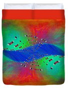 Abstract Cubed 328 Duvet Cover