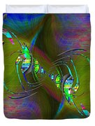 Abstract Cubed 361 Duvet Cover