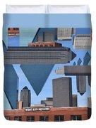 Abstract Dallas Duvet Cover