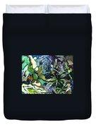 Abstract Dandelion Duvet Cover