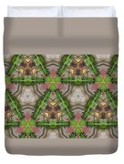 Abstract Dragons Duvet Cover