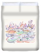 Abstract Drawing Nineteen Duvet Cover