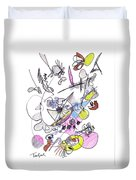 Abstract Drawing Seventy-two Duvet Cover