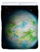 Abstract Earth Duvet Cover