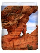 Abstract Erosion Duvet Cover