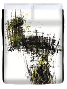 Abstract Expressionism Intensive Painting 62.102511   Duvet Cover