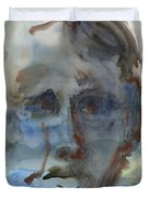 Abstract Face Duvet Cover