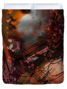 Abstract Face #0066 Duvet Cover