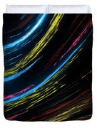 Abstract Fiber Duvet Cover
