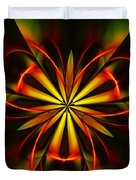 Abstract Floral 032811 Duvet Cover