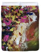 Abstract Floral Study Duvet Cover