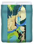 Abstract Flow Green-blue Series No.2 Duvet Cover