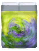 Abstract Flower-bed Duvet Cover