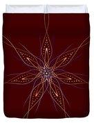 Abstract Flower Mandala Duvet Cover