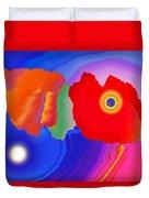 Abstract Fortaleza 2 Duvet Cover