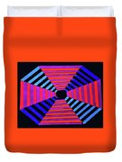Abstract Fun Tunnel Duvet Cover