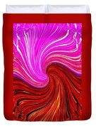 Abstract Fusion 266 Duvet Cover