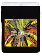 Abstract Garden Defined Duvet Cover