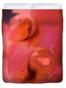 Abstract Gladiolus Duvet Cover