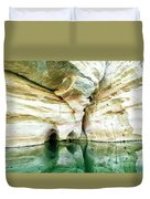 Abstract Gorge Duvet Cover