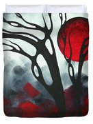 Abstract Gothic Art Original Landscape Painting Imagine I By Madart Duvet Cover