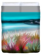 Abstract Grass Series 17 Duvet Cover