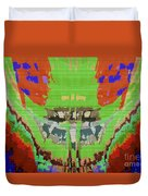 Abstract Holistic Vallely Graphic Painting Inspiration From Sargada Temple  Lights N Shades Sagrada  Duvet Cover