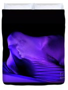 Abstract Human Figure Duvet Cover