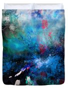 Abstract Improvisation Duvet Cover by Wolfgang Schweizer