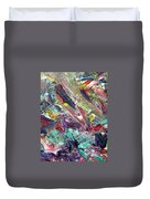 Abstract Jungle 7 Duvet Cover