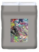 Abstract Jungle 9 Duvet Cover