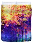 Abstract Landscape 0830a Duvet Cover