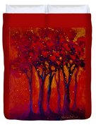 Abstract Landscape 2 Duvet Cover