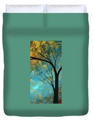Abstract Landscape Art Passing Beauty 3 Of 5 Duvet Cover