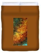 Abstract Landscape Art Passing Beauty 5 Of 5 Duvet Cover