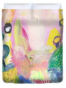 Abstract Landscape, Following The Light Duvet Cover