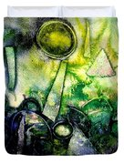 Abstract Landscape IIi Duvet Cover