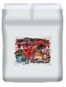 Abstract Landscape Sketch13 Duvet Cover