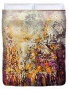 abstract landscape VI Duvet Cover