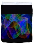 Abstract Light Trails Duvet Cover