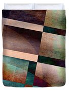 Abstract Lines And Shapes Duvet Cover