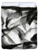 Abstract Monochome 156 Duvet Cover