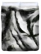 Abstract Monochome 158 Duvet Cover