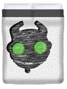Abstract Monster Cut-out Series - Ferko Duvet Cover
