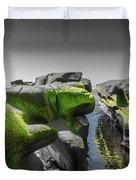 Abstract Mood Selective Color Duvet Cover