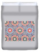 Abstract Moroccon Tiles Colorful Duvet Cover