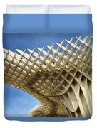 Abstract Of Metropol Parasol Pod At Plaza Of The Incarnation Sev Duvet Cover
