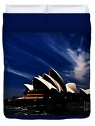 Abstract Of Sydney Opera House Duvet Cover