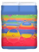 Abstract Oil And Water 7 Duvet Cover